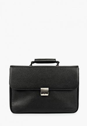 Портфель BARON. Цвет: черный