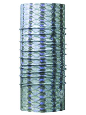 Бандана BUFF 2017 High UV STRIPER. Цвет: серо-голубой, серый