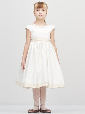 Платье Baby Moses. Цвет: белый, молочный