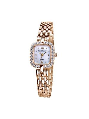 Часы Royal Crown. Цвет: золотистый, серебристый