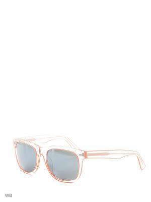 Солнцезащитные очки DQ 0174 26С Dsquared2. Цвет: прозрачный, оранжевый