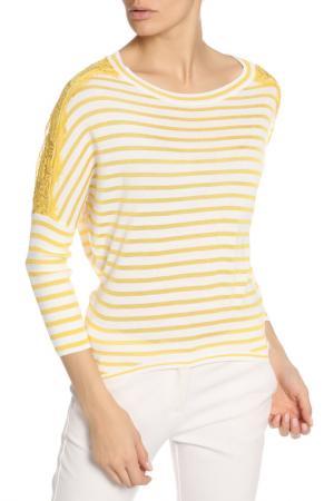 Свитер BGN. Цвет: yellow