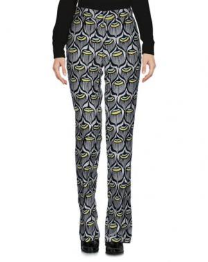 Повседневные брюки GIAMBA. Цвет: светло-серый