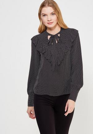 Блуза Mango. Цвет: черный