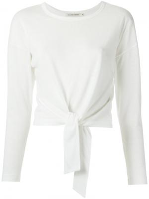 Knot detail blouse Giuliana Romanno. Цвет: белый
