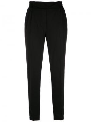 Tapered trousers Reinaldo Lourenço. Цвет: чёрный