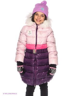 Пальто BOOM. Цвет: фиолетовый, бледно-розовый, розовый