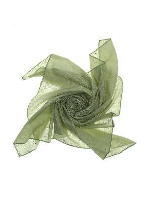 Платок Infiniti. Цвет: зеленый