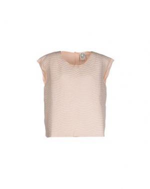Топ без рукавов DRESS GALLERY. Цвет: светло-розовый