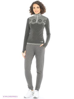 Термобелье (пуловер) The North Face. Цвет: серый, темно-серый