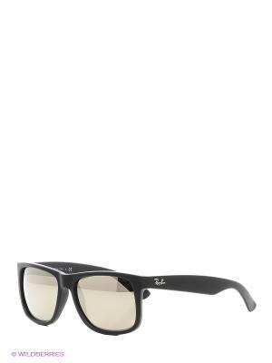 Очки солнцезащитные JUSTIN Ray Ban. Цвет: черный