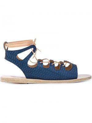 Сандалии Antigone Ancient Greek Sandals. Цвет: синий