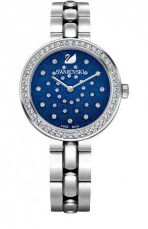 Наручные часы Daytime Swarovski. Цвет: серебряный