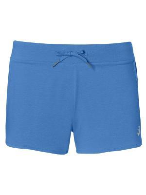 Шорты Knit Short ASICS. Цвет: голубой
