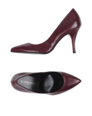 Туфли ELIANA BUCCI. Цвет: красно-коричневый