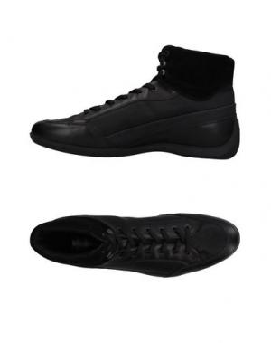 Высокие кеды и кроссовки PIRELLI PZERO. Цвет: черный
