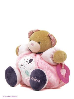 Мишка средний - Воздушный шарик, коллекция Розочка Kaloo. Цвет: розовый
