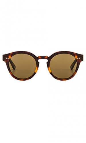 Солнцезащитные очки abbesses Ahlem. Цвет: коричневый