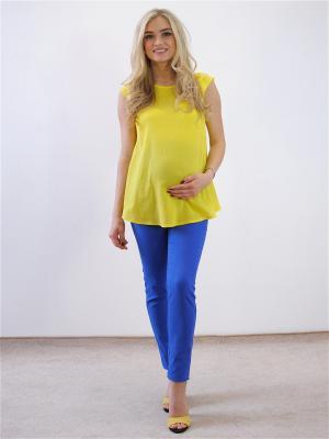 Блузка Адель. Цвет: желтый