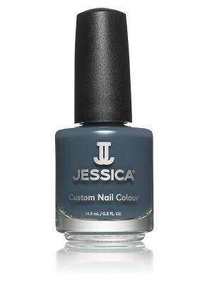 Лак для ногтей  # 894 My State Of Mind, 14,8 мл JESSICA. Цвет: темно-серый
