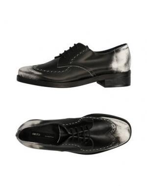 Обувь на шнурках MIISTA. Цвет: черный