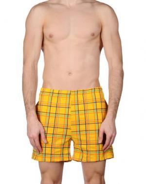 Шорты для плавания ALV ANDARE LONTANO VIAGGIANDO. Цвет: желтый