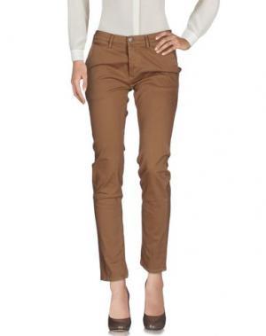 Повседневные брюки GREY DANIELE ALESSANDRINI. Цвет: хаки