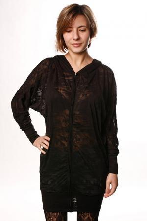 Платье женское  Warhol Whinge Hoodie Black Insight. Цвет: черный