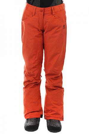 Штаны сноубордические женские  Qanik Fancy Rooibos Tea Rip Curl. Цвет: темно-оранжевый