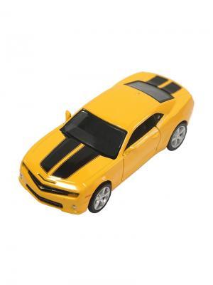 Машинка Инерционная Chevrolet Camaro, Желтая (1:32) (PS-554005-Y) Pit Stop. Цвет: желтый