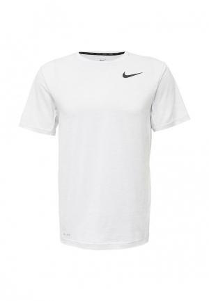 Футболка спортивная Nike. Цвет: серый