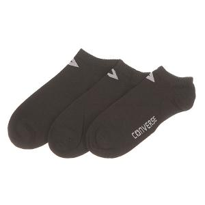 Носки низкие женские  Socks Black Converse. Цвет: черный