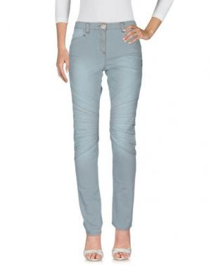 Джинсовые брюки DANIELA DALLA VALLE ELISA CAVALETTI. Цвет: небесно-голубой