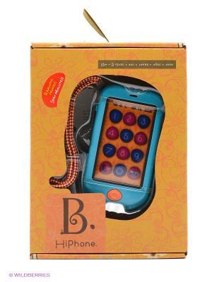 Игрушечный смартфон Battat. Цвет: голубой, оранжевый, розовый