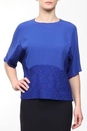 Блуза Frankie Morello. Цвет: синий