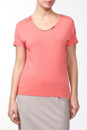Блузка Sabra. Цвет: красный