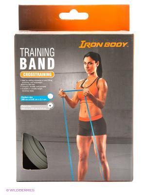 Эспандер для фитнеса замкнутый 1511EG-60 Iron Body. Цвет: серый
