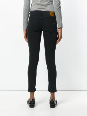 Укороченные брюки Dondup. Цвет: чёрный
