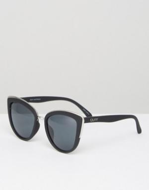 Quay Australia Солнцезащитные очки My Girl. Цвет: черный