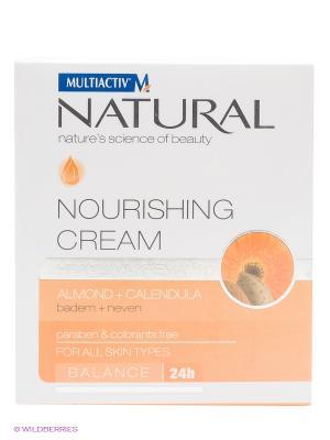Питательный крем  MULTIACTIV NATURAL Balance 24h. Цвет: оранжевый, белый
