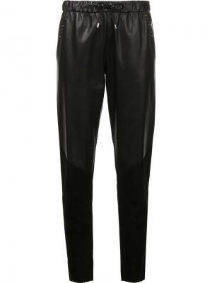 Спортивные брюки Prabal Gurung. Цвет: чёрный