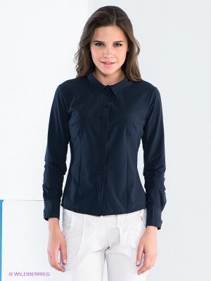 Блузка Say. Цвет: синий