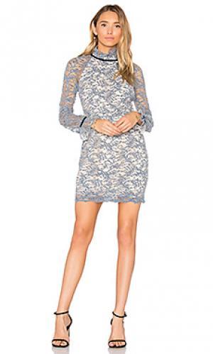 Мини платье alexa Rebecca Vallance. Цвет: синий