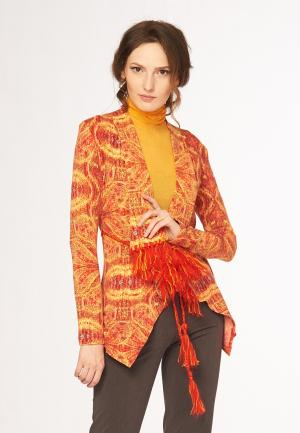 Кардиган Ано. Цвет: оранжевый