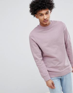 Jack & Jones Свитшот Premium. Цвет: розовый