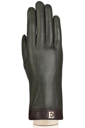 Перчатки Eleganzza. Цвет: оливковый, темно-коричневый