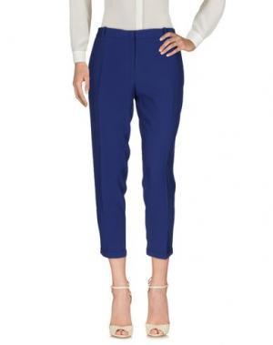 Повседневные брюки ANNARITA N.. Цвет: ярко-синий