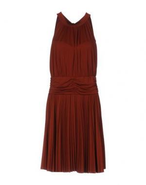 Платье до колена HALE BOB. Цвет: коричневый