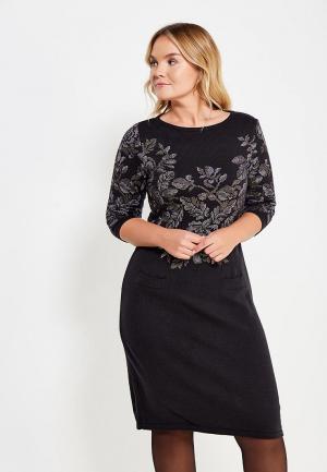 Платье Vay. Цвет: черный