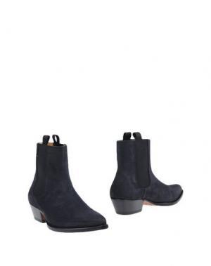 Полусапоги и высокие ботинки MARC JACOBS. Цвет: стальной серый